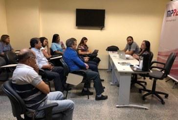 Equipe técnica do Programa Família Acolhedora e MP se reúnem com líderes de organizações