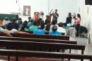 EQUIPE TÉCNICA DO ACOLHIMENTO FAMILIAR APRESENTA O SERVIÇO NA COMUNIDADE CATÓLICA Nª SR.ª APARECIDA